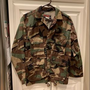 Camouflage Military Tactical Wear Prestige Jacket